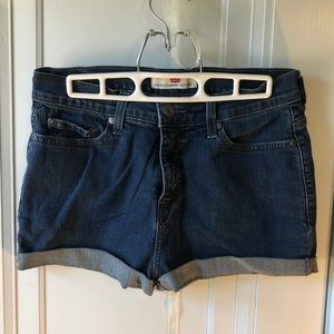 Size 10 Levi's Jean Shorts